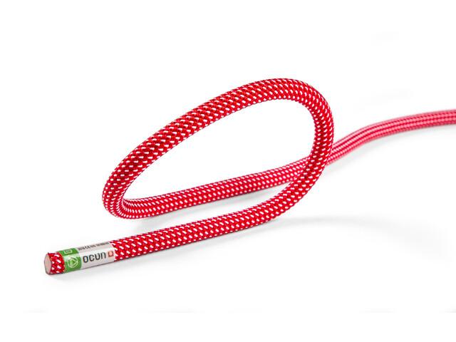Ocun Spirit Cuerda 9,5mm 60m, red/white